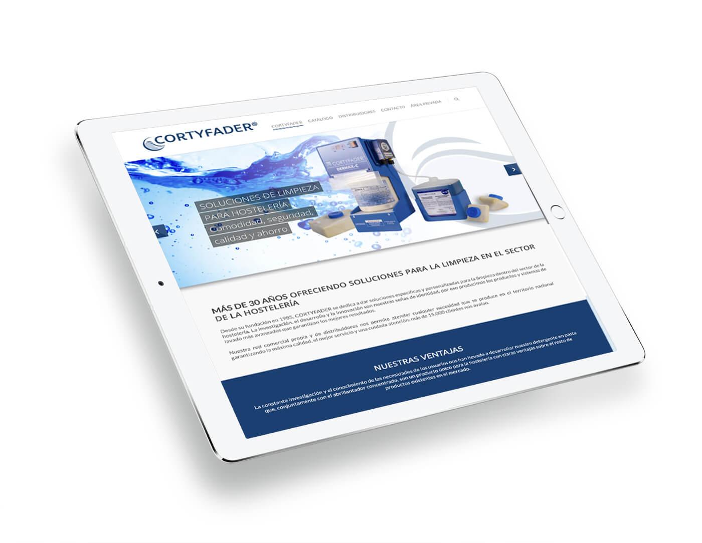 Web Cortyfader